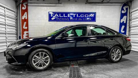 2017 Toyota Camry for sale at Falleti Motors, Inc.  est. 1976 in Batavia NY