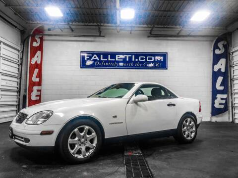 1998 Mercedes-Benz SLK for sale at Falleti Motors, Inc.  est. 1976 in Batavia NY