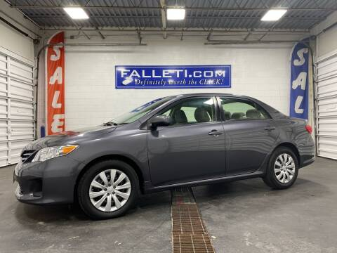2013 Toyota Corolla for sale at Falleti Motors, Inc.  est. 1976 in Batavia NY