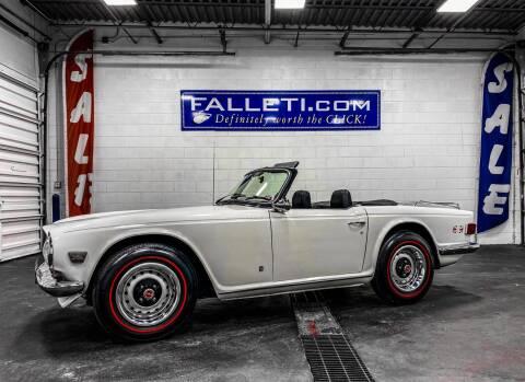 1973 Triumph TR6 for sale at Falleti Motors, Inc.  est. 1976 in Batavia NY