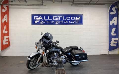 2012 Harley-Davidson FLHRC for sale at Falleti Motors, Inc.  est. 1976 in Batavia NY