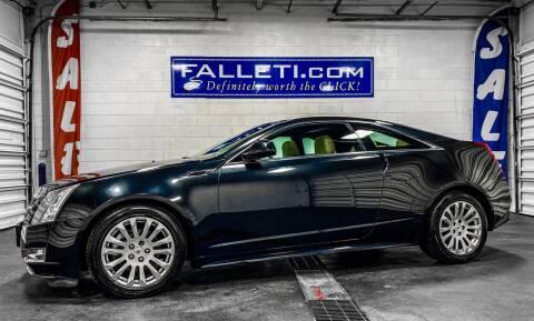 2011 Cadillac CTS for sale at Falleti Motors, Inc.  est. 1976 in Batavia NY