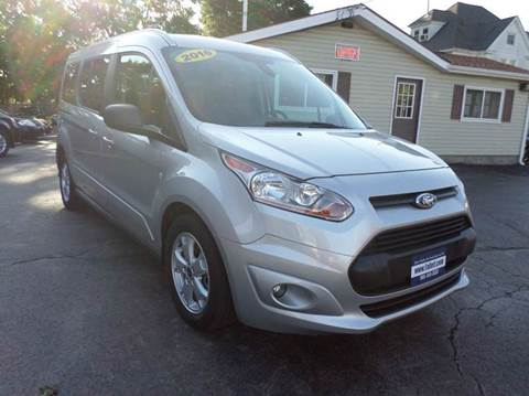 2016 Ford Transit Connect Wagon for sale at Falleti Motors, Inc.  est. 1976 in Batavia NY