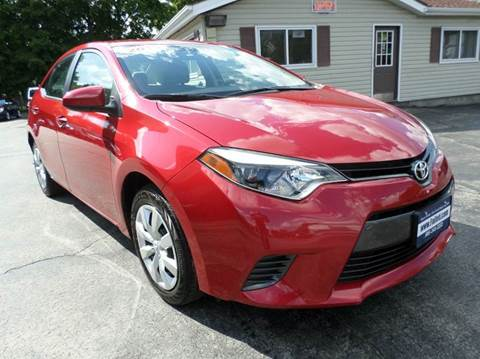 2015 Toyota Corolla for sale at Falleti Motors, Inc.  est. 1976 in Batavia NY