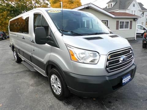 2016 Ford Transit Wagon for sale at Falleti Motors, Inc.  est. 1976 in Batavia NY