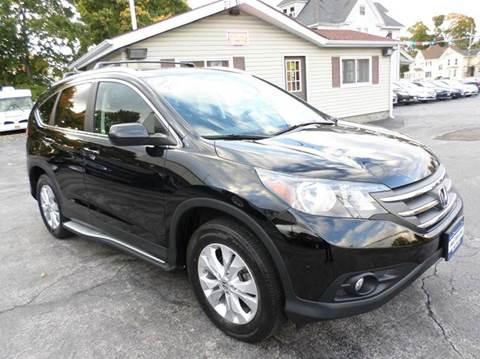 2013 Honda CR-V for sale at Falleti Motors, Inc.  est. 1976 in Batavia NY