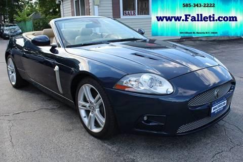 2007 Jaguar XK-Series for sale at Falleti Motors, Inc.  est. 1976 in Batavia NY