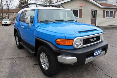 2007 Toyota FJ Cruiser for sale at Falleti Motors, Inc.  est. 1976 in Batavia NY