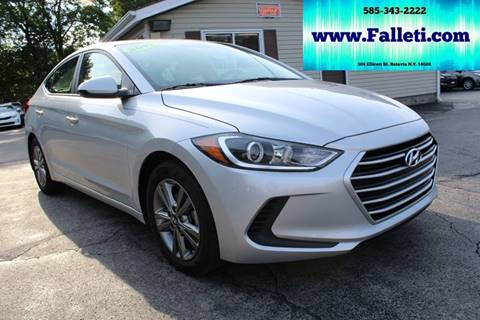 2017 Hyundai Elantra for sale at Falleti Motors, Inc.  est. 1976 in Batavia NY