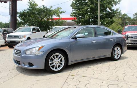 2010 Nissan Maxima for sale at PREMIER AUTO GROUP in Durham NC