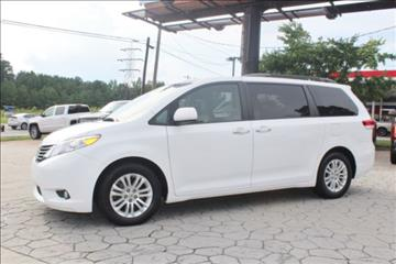 2012 Toyota Sienna for sale at PREMIER AUTO GROUP in Durham NC