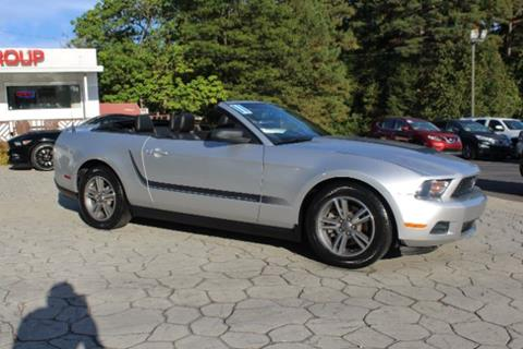 2011 Ford Mustang for sale at PREMIER AUTO GROUP in Durham NC
