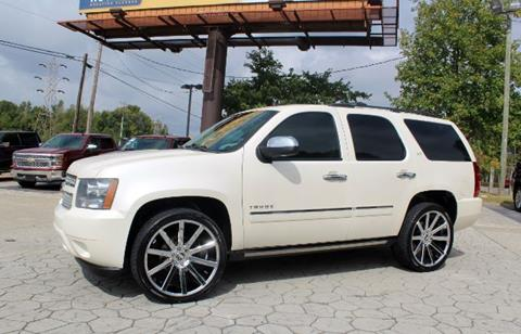2010 Chevrolet Tahoe for sale at PREMIER AUTO GROUP in Durham NC