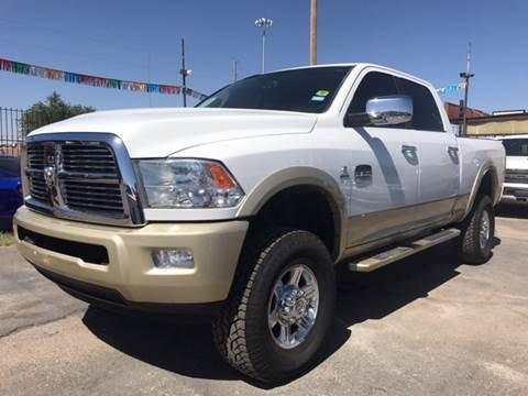 2012 RAM Ram Pickup 2500 for sale at Rainbow Motors in El Paso TX