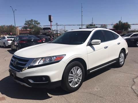 2015 Honda Crosstour for sale at Rainbow Motors in El Paso TX