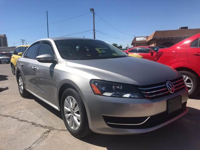2012 Volkswagen Passat for sale at Rainbow Motors in El Paso TX