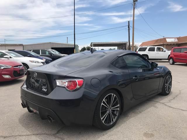 2013 Scion FR-S for sale at Rainbow Motors in El Paso TX