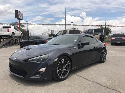 2013 Scion FR-S for sale at Rainbow Motors in El Paso TX