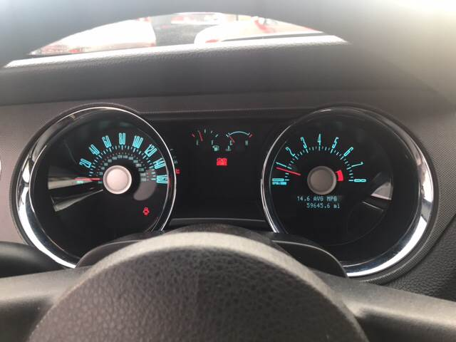 2012 Ford Mustang for sale at Rainbow Motors in El Paso TX