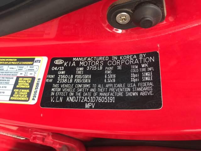 2013 Kia Soul for sale at Rainbow Motors in El Paso TX