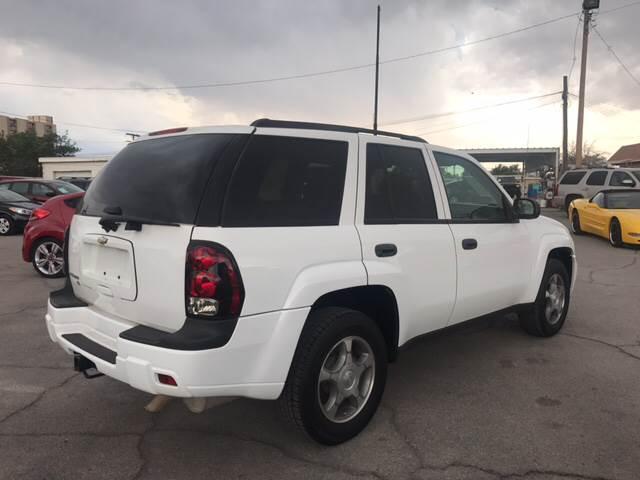 2008 Chevrolet TrailBlazer for sale at Rainbow Motors in El Paso TX