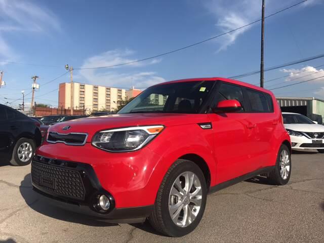 2016 Kia Soul for sale at Rainbow Motors in El Paso TX