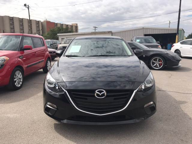 2015 Mazda MAZDA3 for sale at Rainbow Motors in El Paso TX