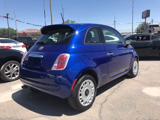 2014 FIAT 500 for sale at Rainbow Motors in El Paso TX