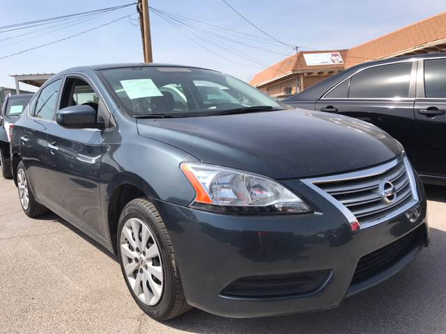 2014 Nissan Sentra for sale at Rainbow Motors in El Paso TX