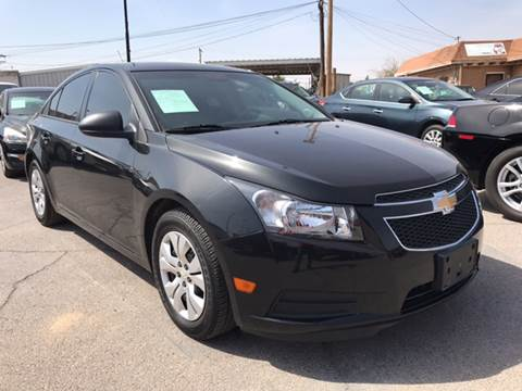 2014 Chevrolet Cruze for sale at Rainbow Motors in El Paso TX