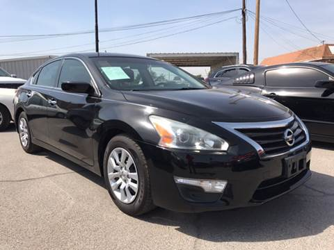 2013 Nissan Altima for sale at Rainbow Motors in El Paso TX
