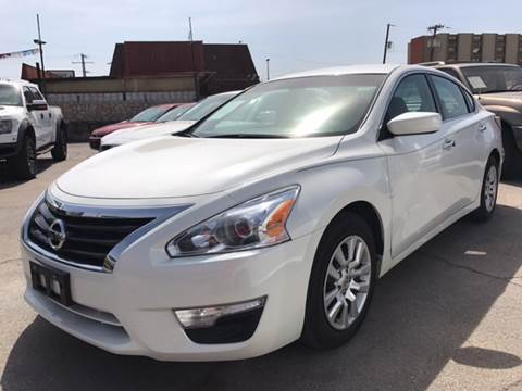 2015 Nissan Altima for sale at Rainbow Motors in El Paso TX