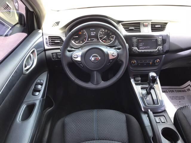 2016 Nissan Sentra for sale at Rainbow Motors in El Paso TX