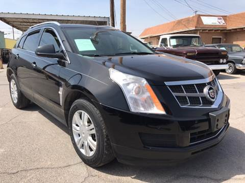 2012 Cadillac SRX for sale at Rainbow Motors in El Paso TX
