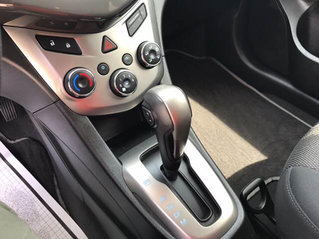 2015 Chevrolet Sonic for sale at Rainbow Motors in El Paso TX