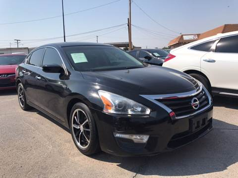 2014 Nissan Altima for sale at Rainbow Motors in El Paso TX