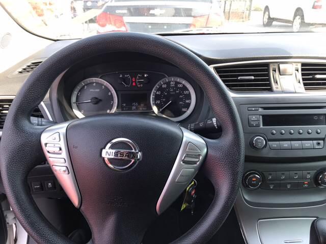2013 Nissan Sentra for sale at Rainbow Motors in El Paso TX
