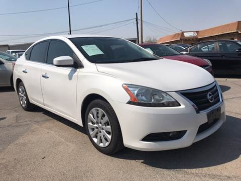 2013 Nissan Sentra for sale at Rainbow Motors in El Paso TX