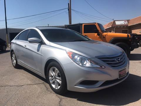2013 Hyundai Sonata for sale at Rainbow Motors in El Paso TX