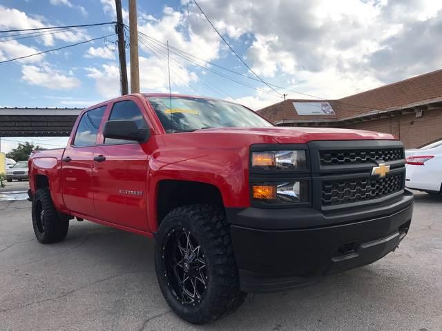 2014 Chevrolet Silverado 1500 for sale at Rainbow Motors in El Paso TX