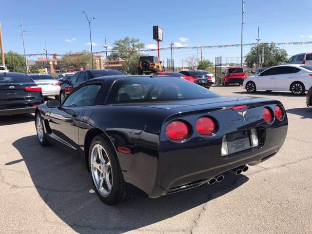 2002 Chevrolet Corvette for sale at Rainbow Motors in El Paso TX