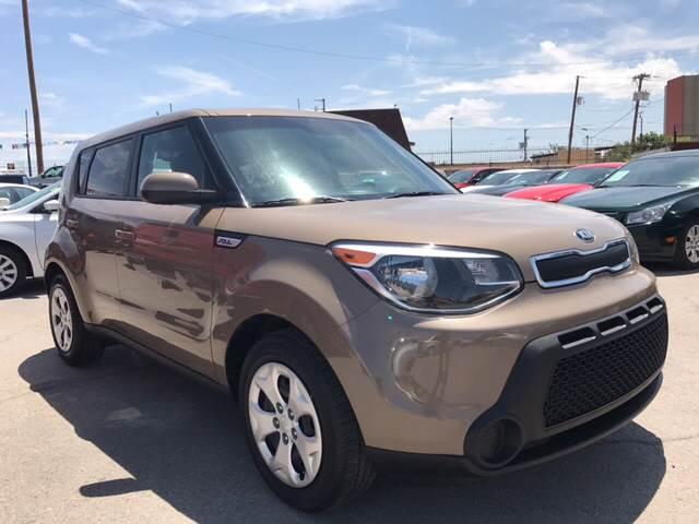 2015 Kia Soul for sale at Rainbow Motors in El Paso TX