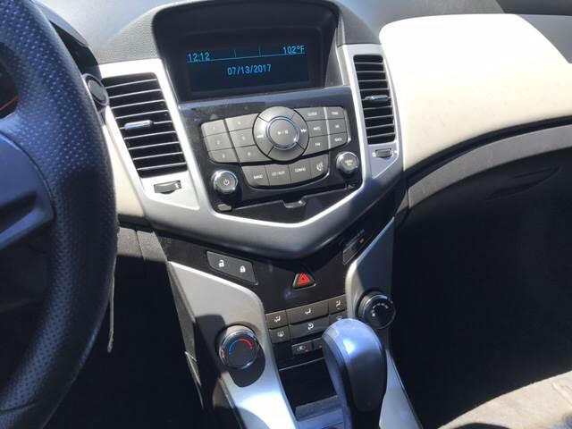 2012 Chevrolet Cruze for sale at Rainbow Motors in El Paso TX