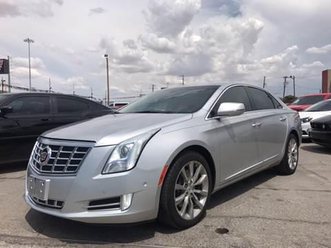 2015 Cadillac XTS for sale at Rainbow Motors in El Paso TX