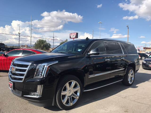 2016 Cadillac Escalade ESV for sale at Rainbow Motors in El Paso TX