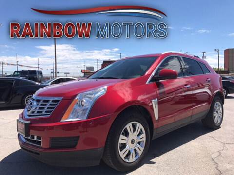 2013 Cadillac SRX for sale at Rainbow Motors in El Paso TX