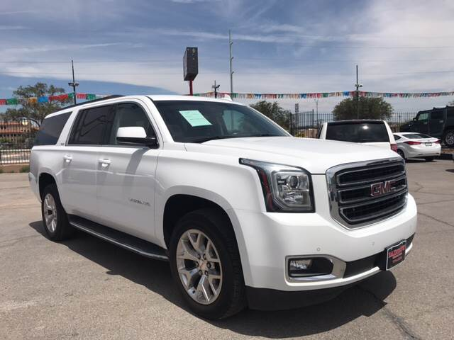 2015 GMC Yukon XL for sale at Rainbow Motors in El Paso TX