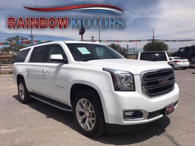 2015 GMC Yukon XL for sale at Rainbow Motors in El Paso TX