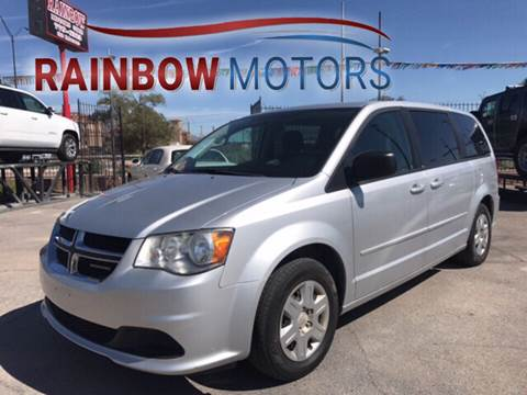 2011 Dodge Grand Caravan for sale at Rainbow Motors in El Paso TX