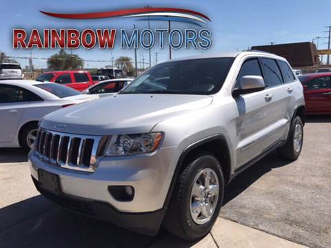 2013 Jeep Grand Cherokee for sale at Rainbow Motors in El Paso TX